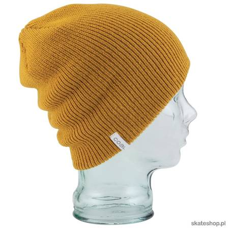 COAL The Frena Solid (mustard) winter hat