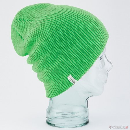 COAL The Frena Solid (neon green) beanie
