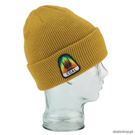 COAL The Summit Beanie (heather mustard) winter hat