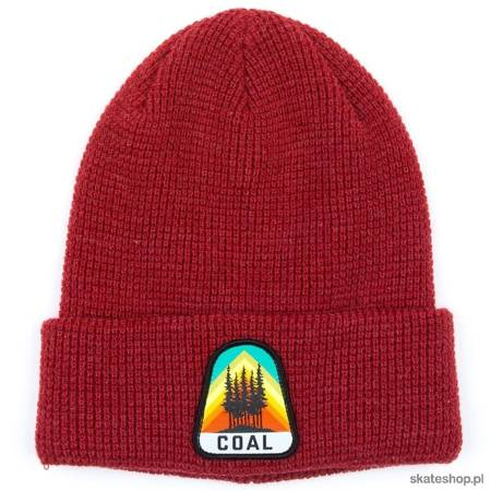 COAL The Summit Beanie (heather red) winter hat