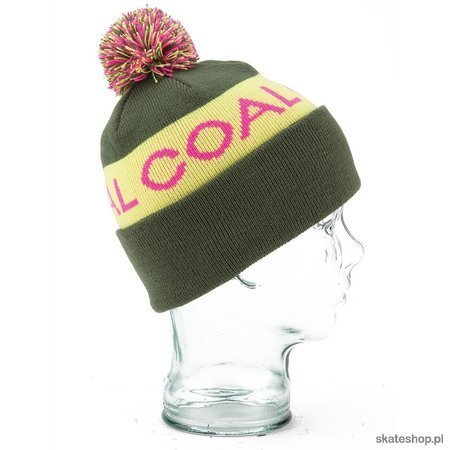 COAL The Team (olive) winter hat