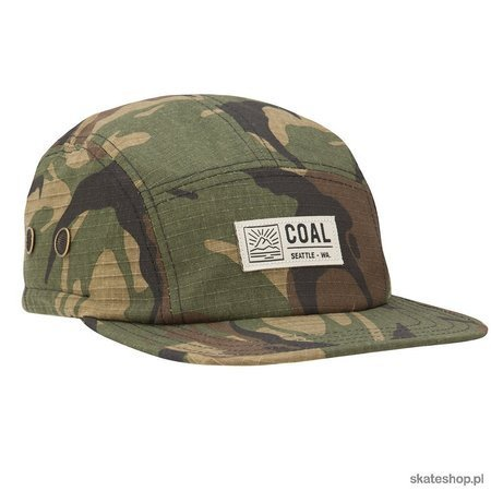 COAL The Trek (camo) 5 panel cap