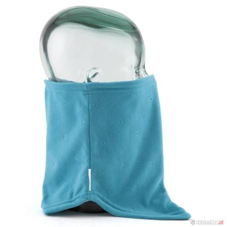 COAL The V-NECK (turquoise) neck warmer