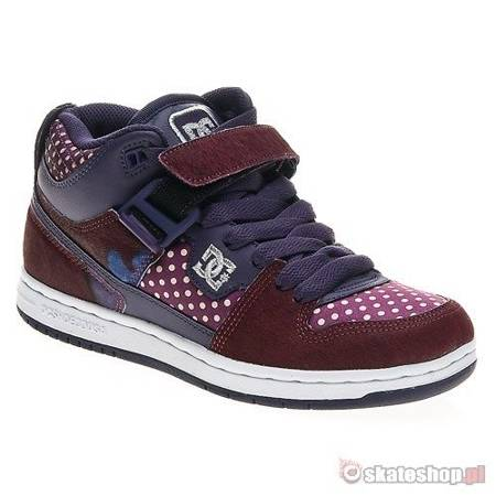 DC Jersey City SE WMN dark purple shoes