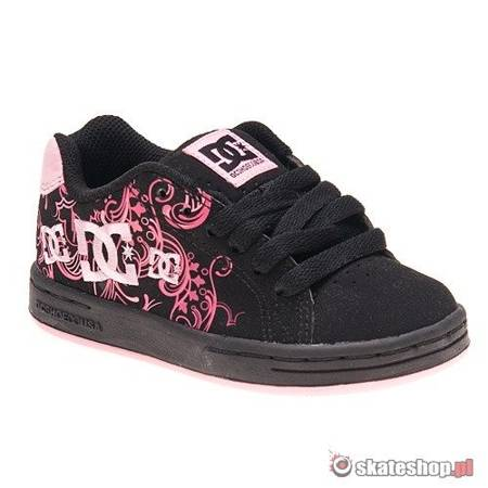 DC Pixie3 KIDS black/pink shoes