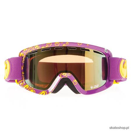 DRAGON D2 (icon/gold ion + amber) snow goggles