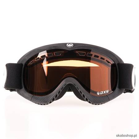 DRAGON DS (coal/amber) snow goggles