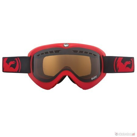 DRAGON DX'14 (pred/jet) snow goggles + Amber Lens