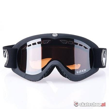 DRAGON DXS (coal/ionized) snow goggles
