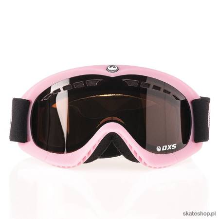 DRAGON DXS (pop pink/jet + amber) snow goggles