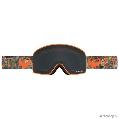 DRAGON NFX2 (Danny Davis Signature / Dark Smoke  + Yellow Red Ion) snow goggles