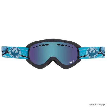 DRAGONDX (narwale/yellow/blue ion) snow goggles