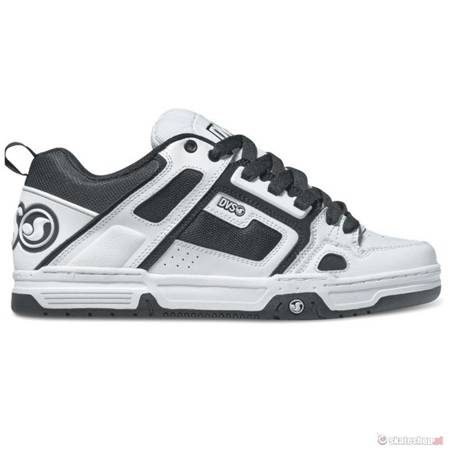 DVS Comanche (white black leather) shoes