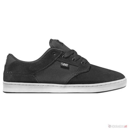 DVS Quentin (black white suede) shoes