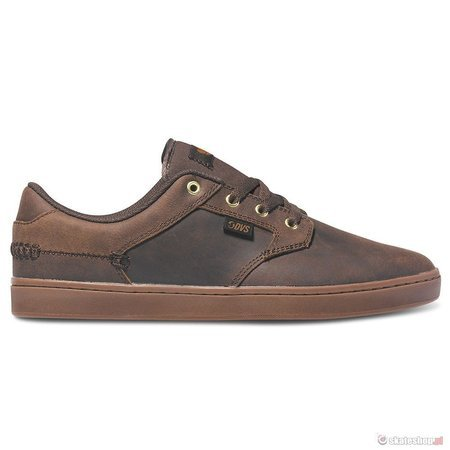 DVS Quentin (brown crazy horse leather) shoes