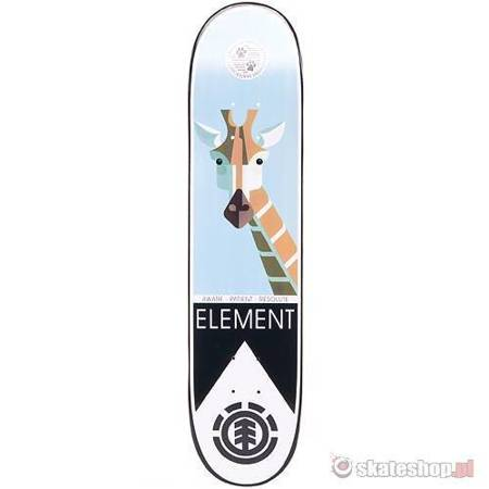 ELEMENT Luma Nature (black/green) 7.5 skateboard