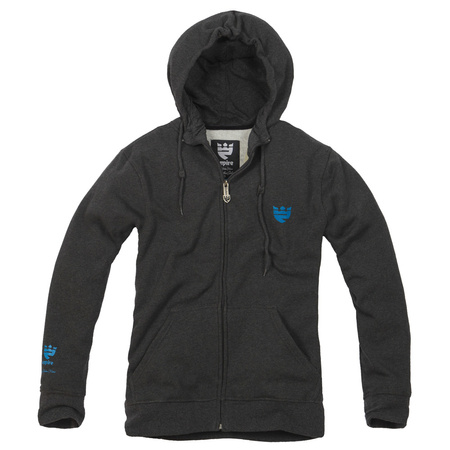 EMPIRE Archer (graphite/blue) fleece