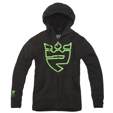 EMPIRE Kingdom (black/green) fleece