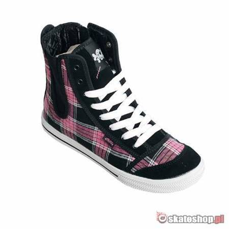 ETNIES Zanza WMN black/pink/white shoes