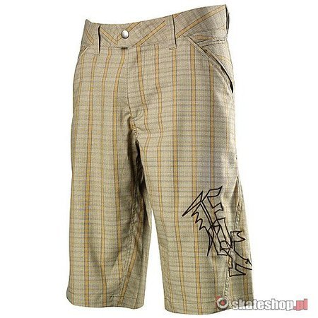 FOX Campus dark khaki bike shorts