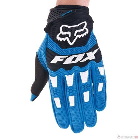 FOX Dirtpaw (blue) bike gloves