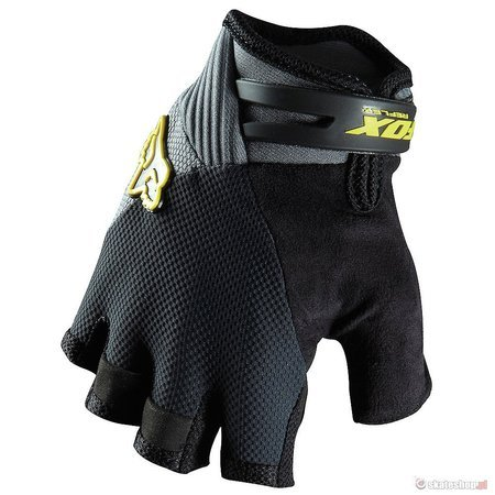 FOX Reflex Gel Short (charcoal) bike gloves