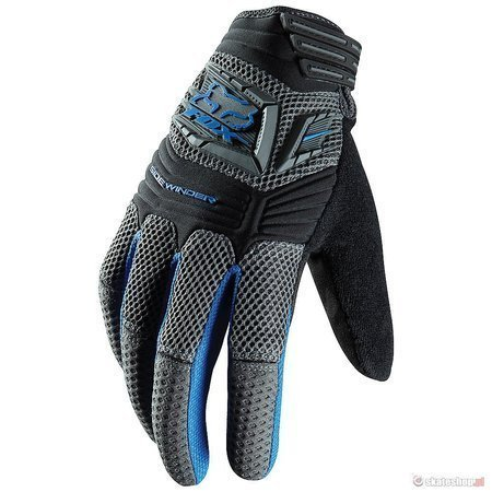 FOX Sidewinder (blue) bike gloves