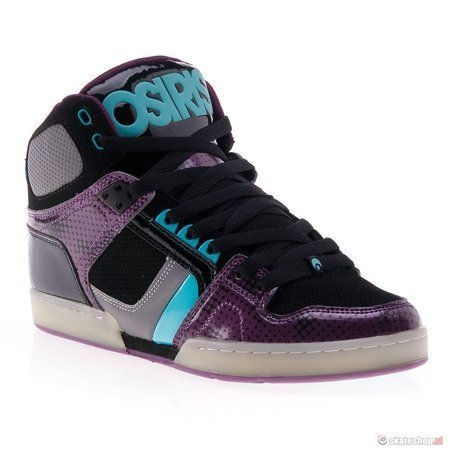 OSIRIS NYC 83 '13 (blk/pur/sea) shoes
