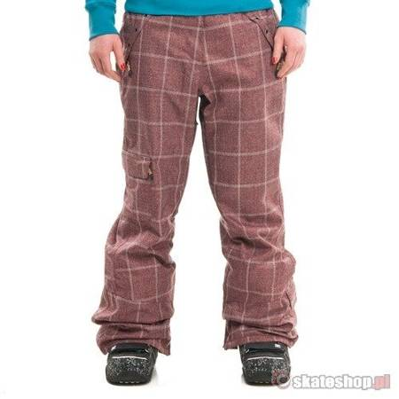 SESSIONS Switch Window Plaid WMN cinnabar snowboard pants