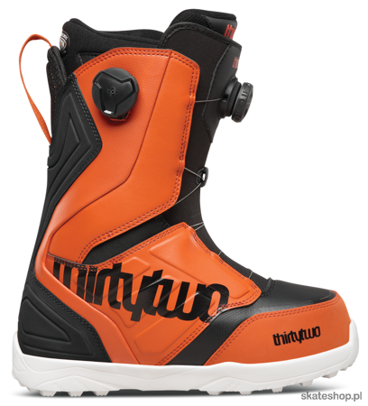 THIRTYTWO Lashed Double BOA (black/orange)) snowboard boots