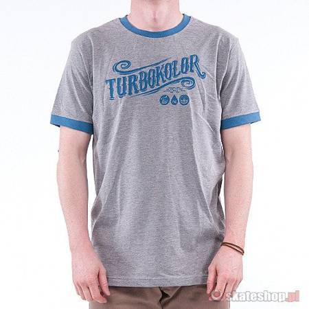TURBOKOLOR Turbokolor SS-13 (grey/navy) t-shirt