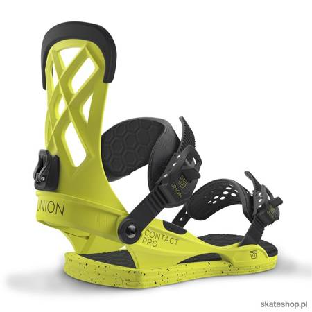 UNION Contact Pro (acid green) snowboard bindings