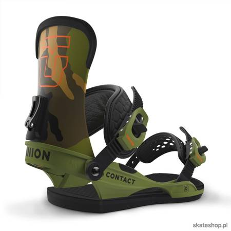 UNION Contact (camo) snowboard bindings