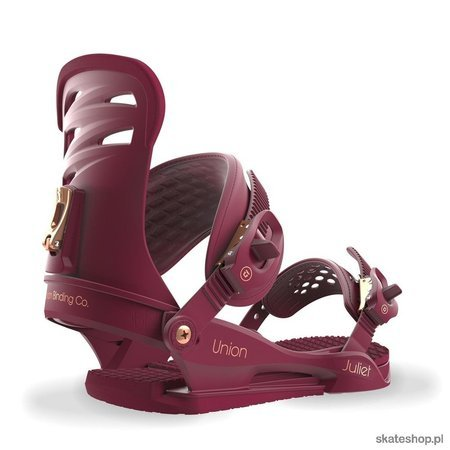 UNION Juliet (burgundy) snowboard bindings