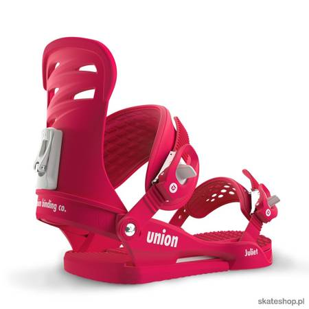 UNION Juliet (raspberry) snowboard bindings