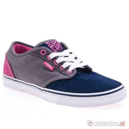 VANS Atwood WMN (grey/navy/magenta) shoes
