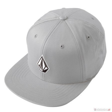 VOLCOM Full Stone 110 (cement grey) snap hat