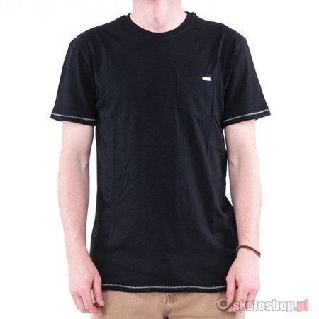 VOLCOM Stone Alone PCKT (black) t-shirt