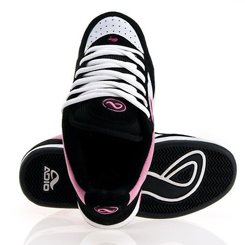 Black And Pink Adio Shoes