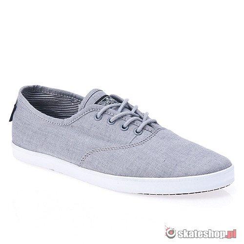DVS Vino Grey Mens Skateboarding Sneakers u3GAAe6