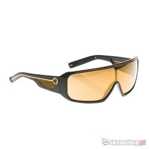 d740817d871cc SPYOPTIC Tron matte black gold mirror sunglasses