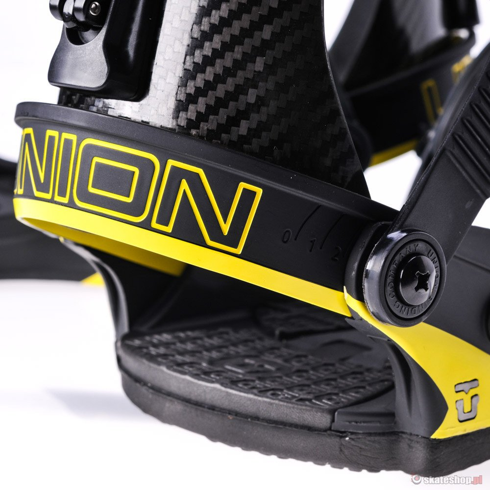 UNION Charger (black/yellow) Snowboard Bindings