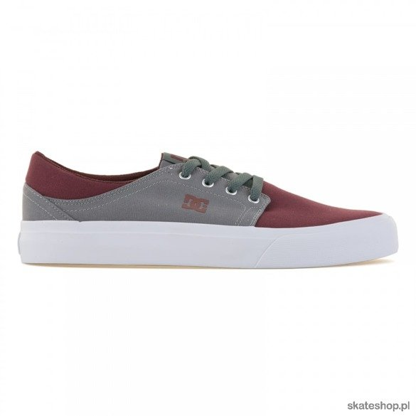 DC Trase X (oxblood/light grey) shoes