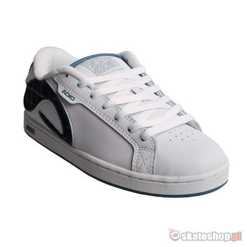 4d291670a41 ADIO Eugene RE WMN white slate plaid shoes