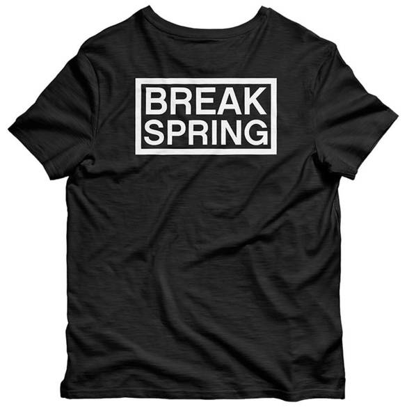 CAPITA Spring Break (black) t-shirt