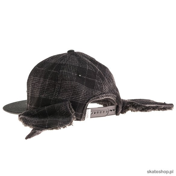 COAL The Stevens cap (black plaid)