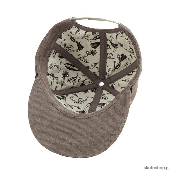 COAL The Wilderness (Grey / Fish) cap