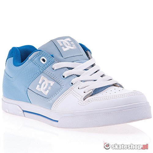 DC Pure SE WMN (white/blue) shoes