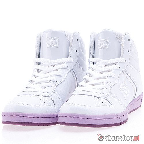 DC Spruce HI WMN (white/purple) shoes
