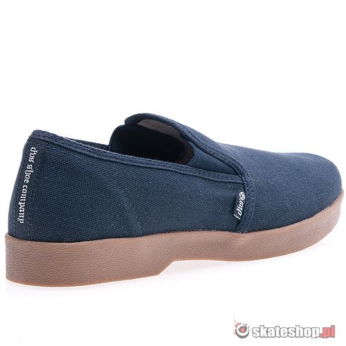 DVS Doughboy Slip (navy canvas) shoes